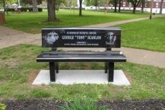 Franklin Veterans-Scanlon bench